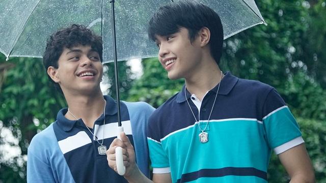 Boys' Love: Elijah Canlas and Kokoy de Santos in the hugely popular web series Gameboys