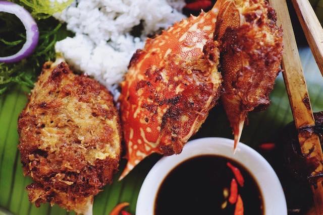 conching's native chicken in cebu tortang crab