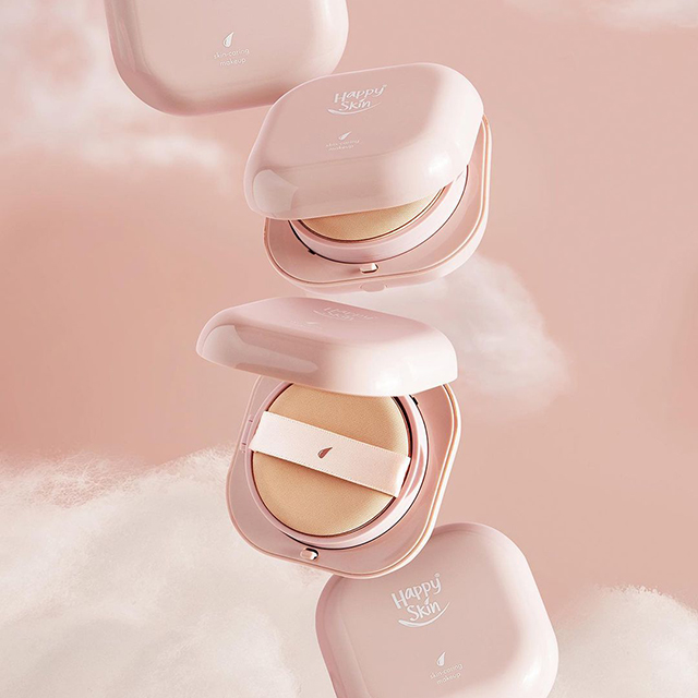 shopping finds: Second Skin Serum Cushion Foundation from Happy Skin