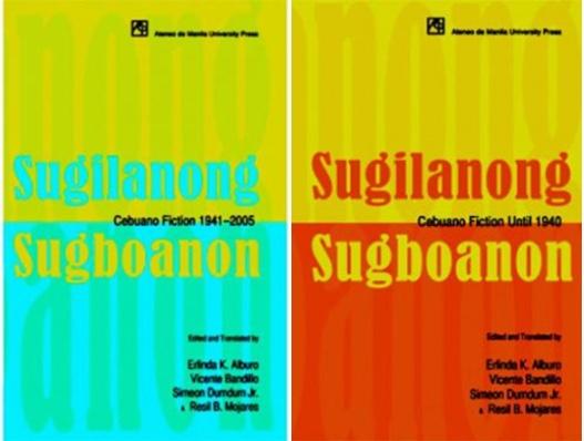 book about cebu history: Sugilanong Sugbuanon Cebuano Fiction Vol. 1 and Vol. 2
