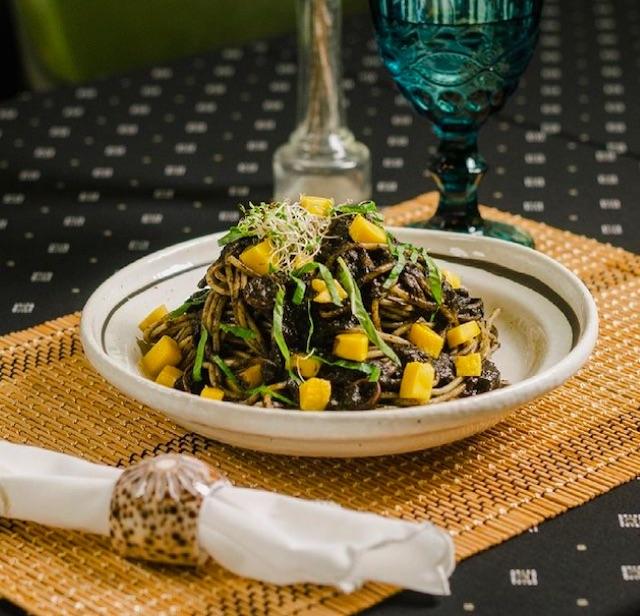 Spaghetti Al Nero from Gypsy by Chef Waya