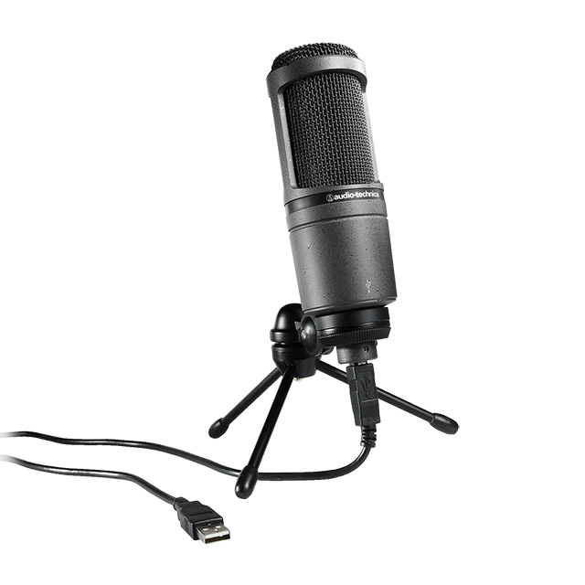 Audio-Technica AT2020 USB Condenser Microphone