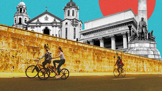 manila bike tour