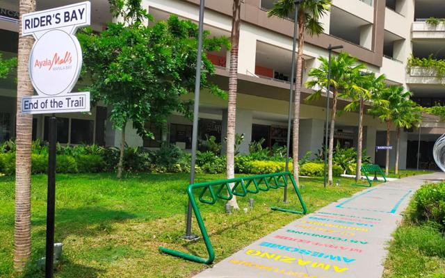 Ayala Malls Manila Bay bike parking