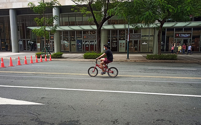 Bonifacio High Street bike parking