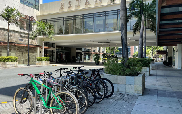 Estancia at Capitol Commons  bike parking