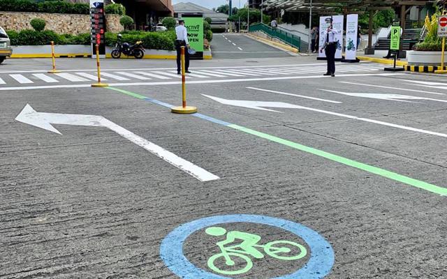Greenhills Mall  bike parking