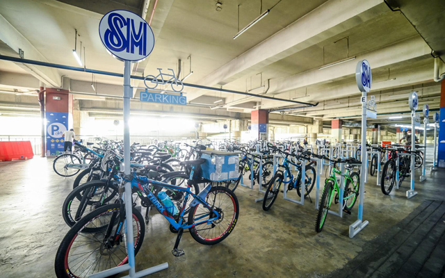 SM City Marikina bike parking