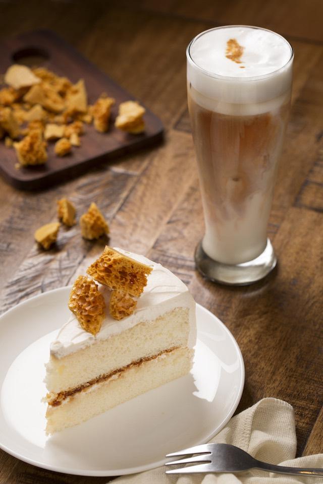 Treat Street Cafe's Honey Toffee Crunch Cake