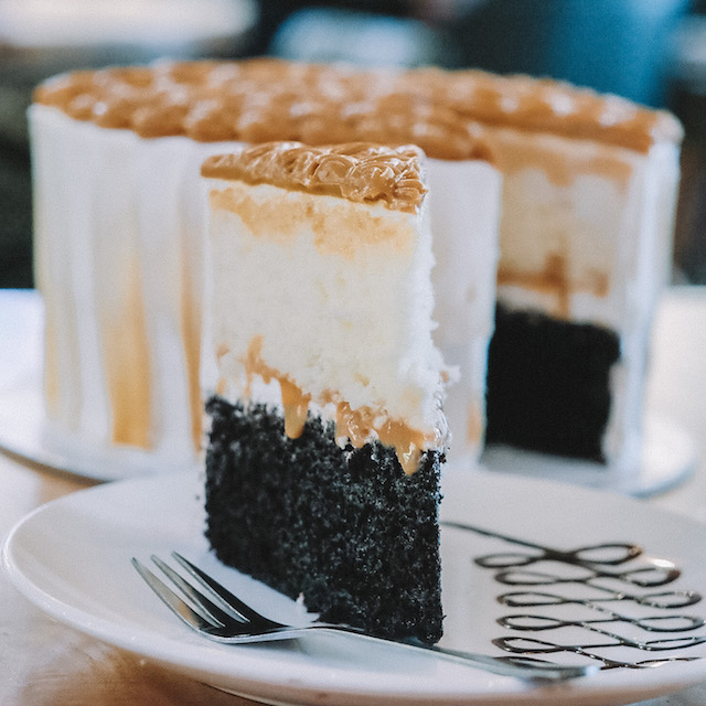 Tamp Cafe and Co.'s Yema Cake