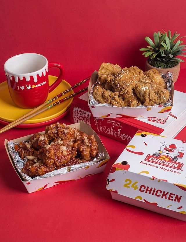 24 chicken