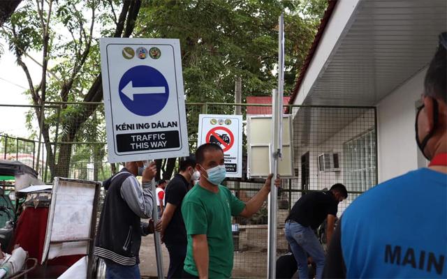 kapampangan street signs