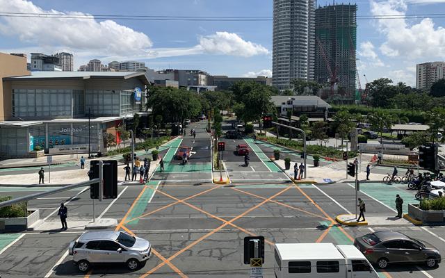 pasig bike lanes