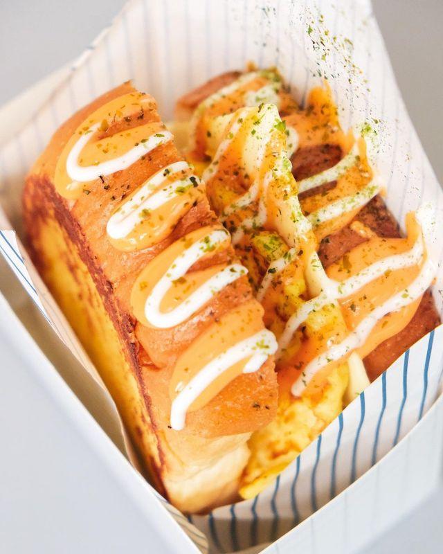 egg drop sandwich