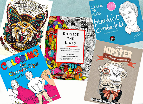 10 Awesome Adult Coloring Books for Every Personality