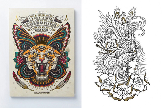 The Tatoo Coloring Book
