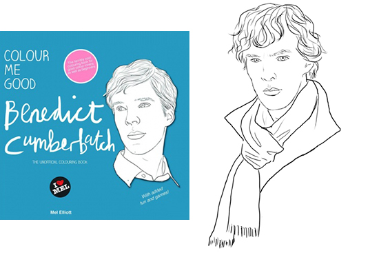 Colour Me Good: Benedict Cumberbatch (The Unofficial Colouring Book)