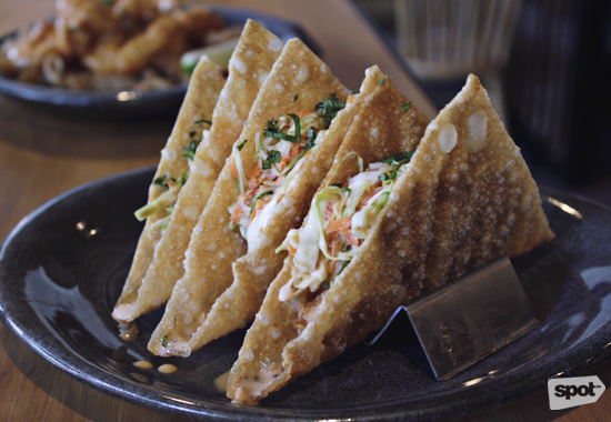 Applebee's Wanton Taco