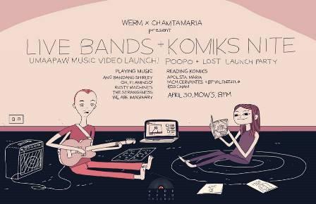 Live Bands + Komiks Nite