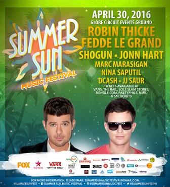 Summer Sun Music Fest