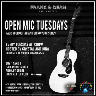 Open Mic Tuesdays