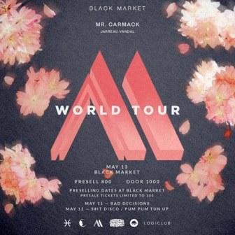 Mr. Carmack World Tour with Jarreau Vandal