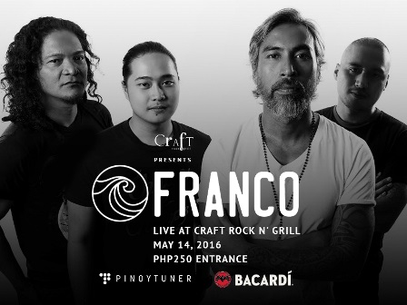 Franco Live at Craft Rock N' Grill