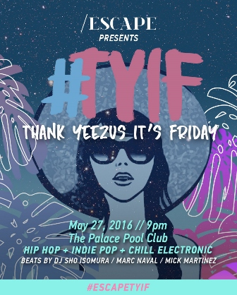 #TYIF Thank Yeezus It's Friday