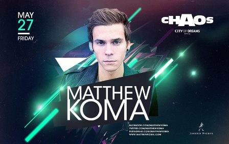 Matthew Koma at Chaos