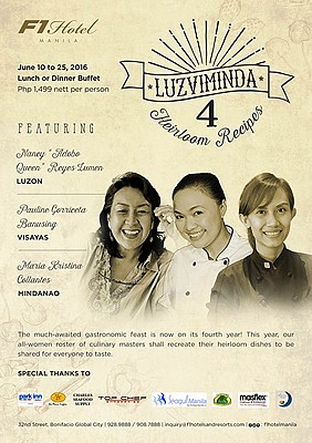 LUZVIMINDA 4: Heirloom Recipes