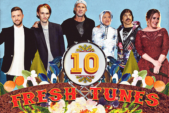 10 Fresh Tunes June 2016
