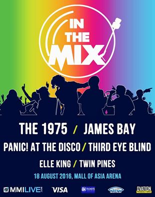 The 1975 and Panic! At the Disco in Manila