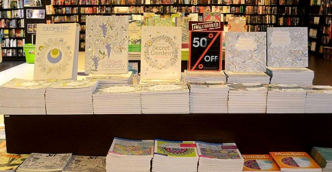 Adult Coloring Books Sale At Fully Booked