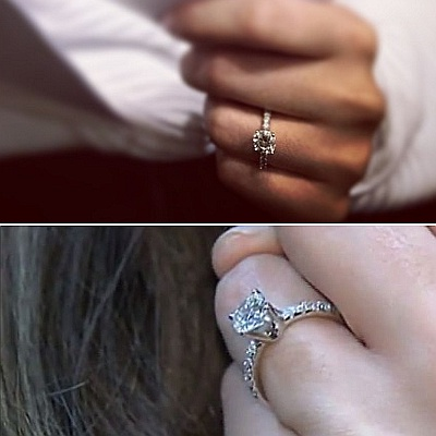 rings white borsheims shank halo diamond engagement ring gold precision settings split set bling mounting triple