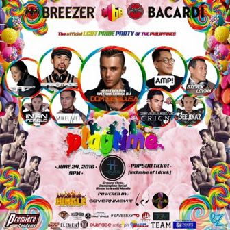 Playtime Candyland 2016: LGBT Pride Party