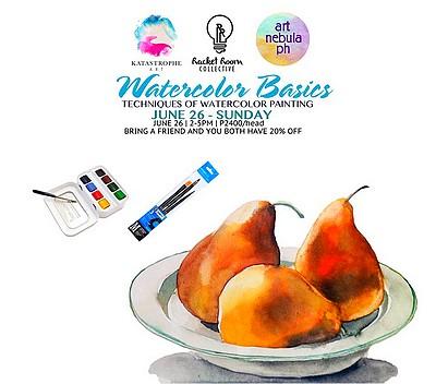 Watercolor Basics Workshop