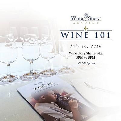 Wine Story Academy Wine 101