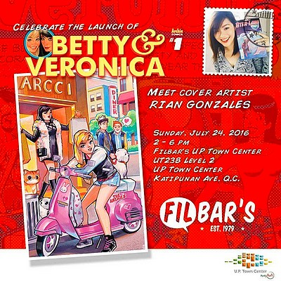 Betty & Veronica #1 Launch Party