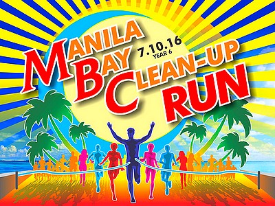 Manila Bay Clean-Up Run 2016