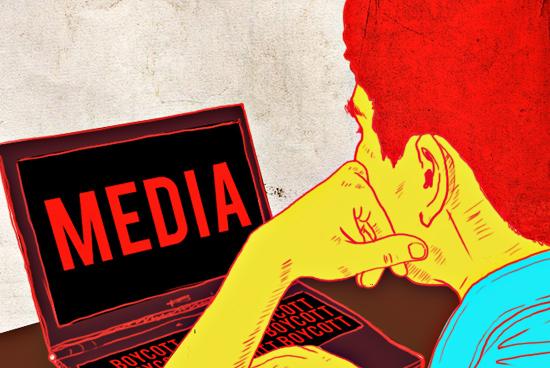 Steps to Boycott Media