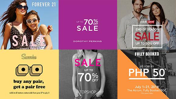 Manila On Sale: Zara, Fully Booked, Sunnies Studios