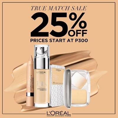 Manila On Sale: L'Oreal