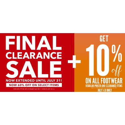 Payless Clearance Sale