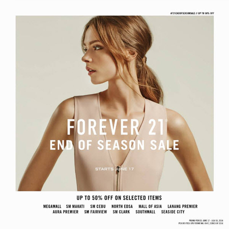 Forever 21 End of Season Sale