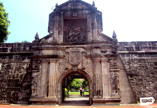 Intramuros-Fort Santiago