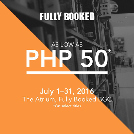 Fully Booked Atrium Sale