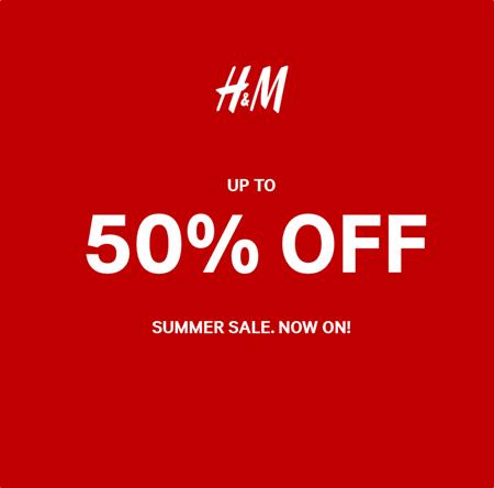 H&M Summer Sale 2016