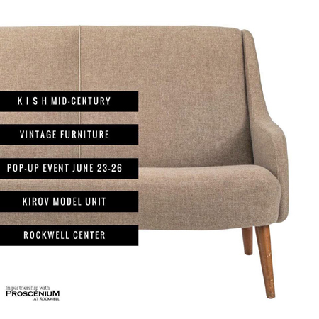 KISH Mid-Century Pop-Up Store