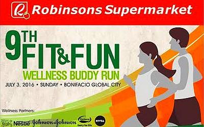 9th Robinsons Supermarket Fit & Fun Buddy Run