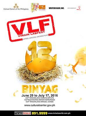 Virgin Labfest 12